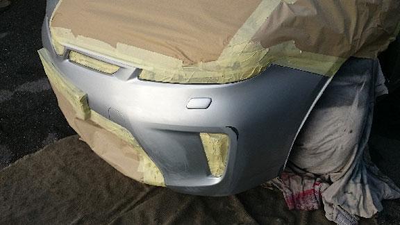 Bumper scuff repair