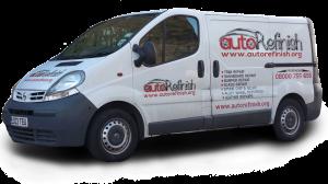 AutoRefinish Technician Van - Fully equipped