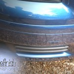 Audi Bumper Scratch in Clapham-After